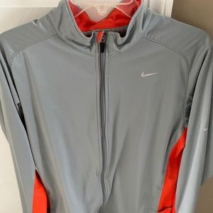 Mens Large Nike Dri-Fit Running Jacket